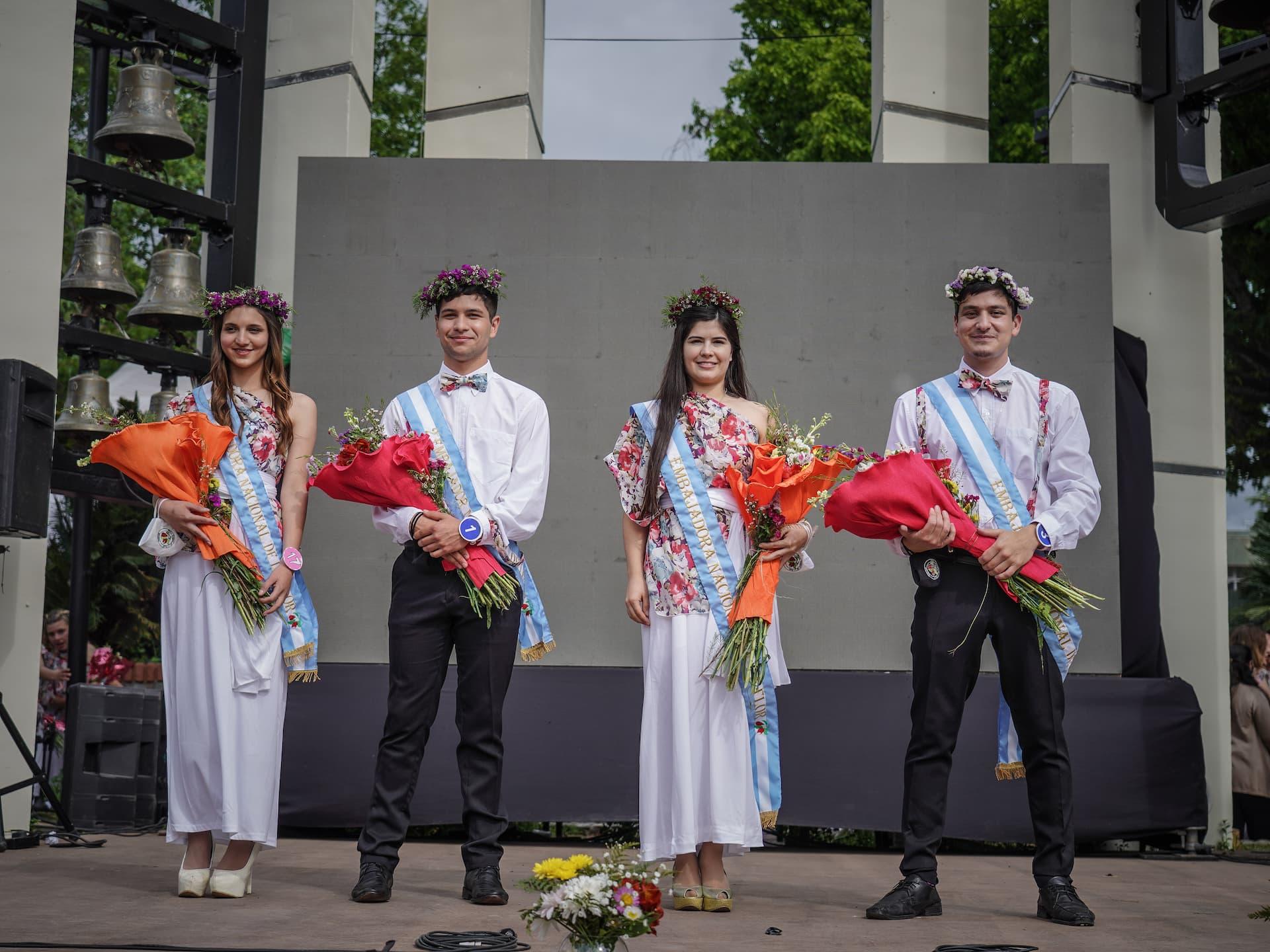 Embajadores de la Fiesta Nacional de la Flor 2021